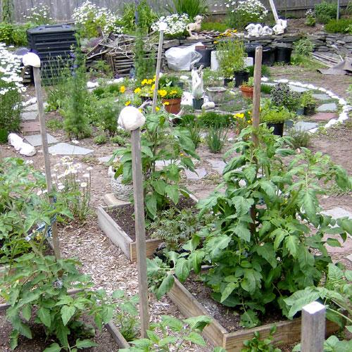Under Construction (spiral garden)
