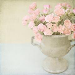 Pink Roses in Vintage Urn (Shana Rae {Florabella Collection}) Tags: life pink flowers stilllife texture urn vintage still explore tuesday vase frontpage pinkroses florabella prettypinkisms shanarae florabellatextures