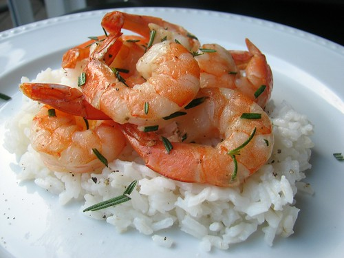 Grilled Rosemary Shrimp