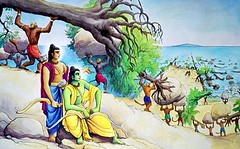 Art Of Ramayan - ISKCON desire tree 08