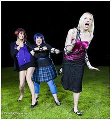 IMG_6192 - Entity (photochappie) Tags: girls swansea canon fun promo band cable microphone tiedup entity strobist 5dmkii