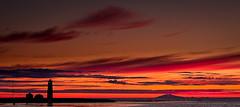 Sunset (Pezti) Tags: sunset red orange lighthouse yellow zeiss t 50mm prime iceland f2 f56 snæfellsjökull 2009 ísland planar rautt gult viti grótta sólsetur appelsínugult leicam8 snæfellsglacier zeiss50mmf2planart