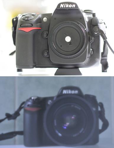 Pin hole DSLR photography