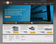 Host Head - Homepage comp (Cristian Bosch) Tags: webdesign templates mockups designcomps webcomps