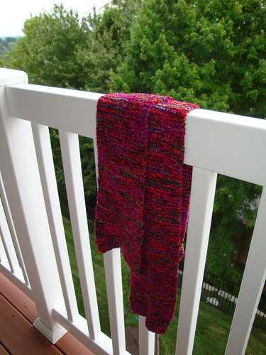 Felted Chenille Scarf 04