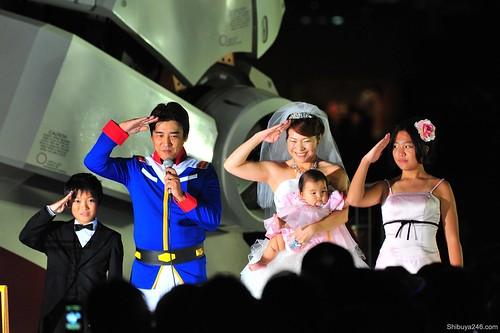 Gundam Wedding Odaiba