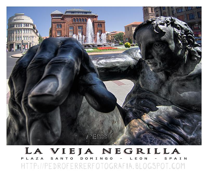 León - La vieja negrilla - Amancio González