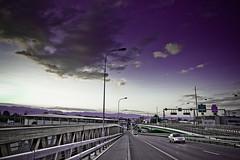 La vie en.... violet (Gabriel Asper) Tags: street gabriel de landscape switzerland la photo suisse geneva geneve photos g picture paysage rue pict genve dans ambiance genf asper suiss gasper gabiche gabicheminimal
