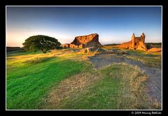 Hammershus castle #2 (Mariusz Petelicki) Tags: castle island balticsea hdr bornholm zamek morze 3xp bałtyckie hammeren mariuszpetelicki castlehammershus