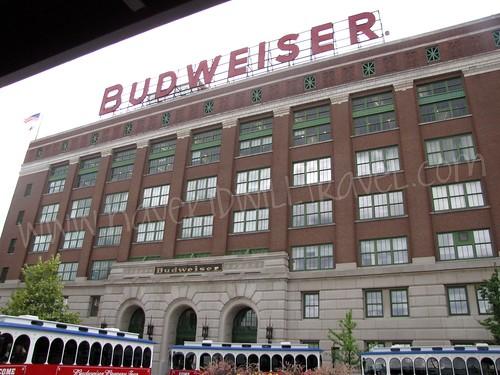 Budweiser, Anheuser Busch Brewery, St. Louis, Missouri