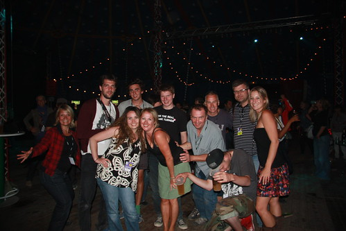 The Rock en Seine Crew!
