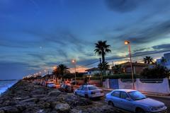 Playa burriana (Vivionitier) Tags: sea espaa landscape nikon playa paisaje nocturna gran angular coated hdr castellon burriana 1424 d700 nanocristal nanocristales vivionitier yulucs