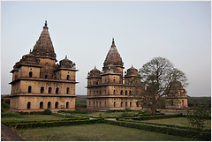 silent witness, orchha (nevil zaveri) Tags: trees india tree heritage architecture landscape photography blog photographer photos stock images mausoleum photographs photograph mp monuments zaveri tombs stockimages pradesh travelogue nevil madhyapradesh orchha madhya cenotaphs bundela theverybestofme nevilzaveri