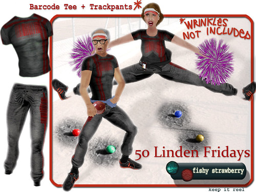 Barcode Outfit - 50 Linden Fridays