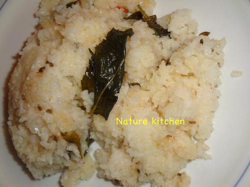 Rice upma