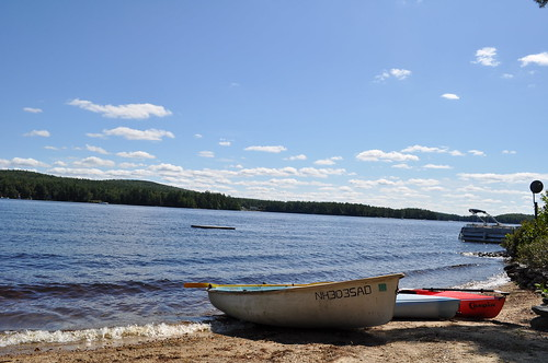 Boats on Beach in Ringe, NH