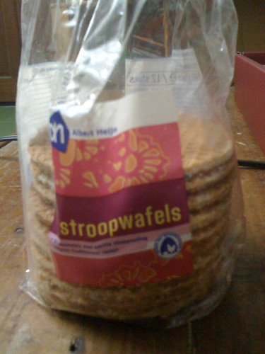 來自荷蘭的餅乾:Stroopwafels