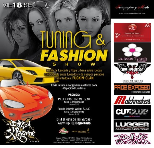 Tuning & Fashion Show