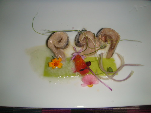 Sardinas con pipirrana