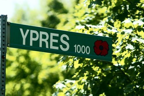 WWI & II Windsor Streets - Ypres