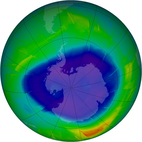2009 Antarctic Ozone Hole