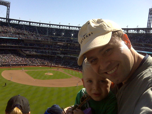 Julian and Max at Mets versus Nationals.