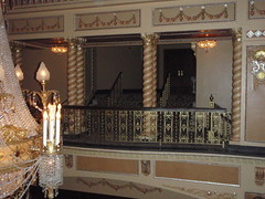 Chandalier - Upper view 2 (Carrie and Charles) Tags: wedding genesee venues genessetheatre