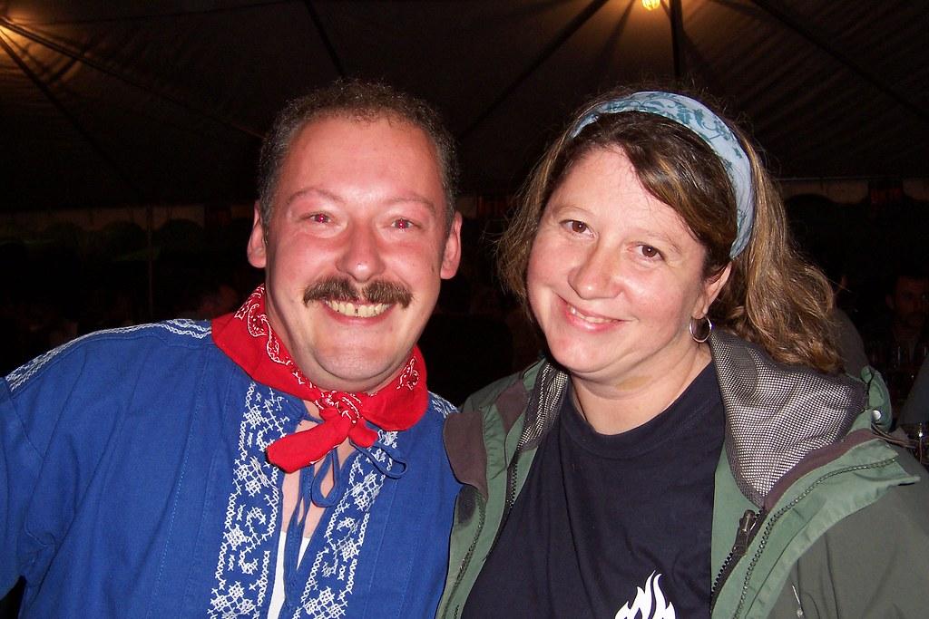 Me and Jayne at Oktoberfest in Mt. Angel