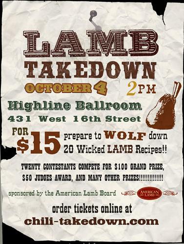 Lamb Takedown