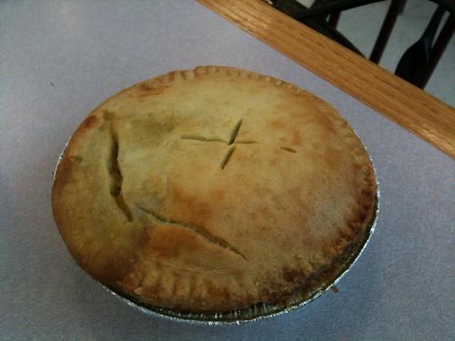 Vegan Chicken Pot Pie-Chamberlin's