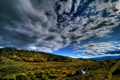 Autumn Colorado Skies (TVGuy) Tags: autumn sky mountain tree fall nature clouds canon colorado aspens aspen