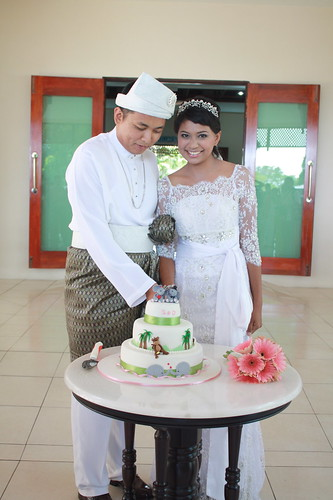 syaz's wedding cake