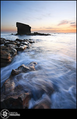 Charleys Garden (f22 Digital Imaging) Tags: ocean uk sea england seascape water sunrise canon newcastle landscape coast sigma northumberland northeast seatonsluice northeastengland charleysgarden colleywellbay f22digitalimaging