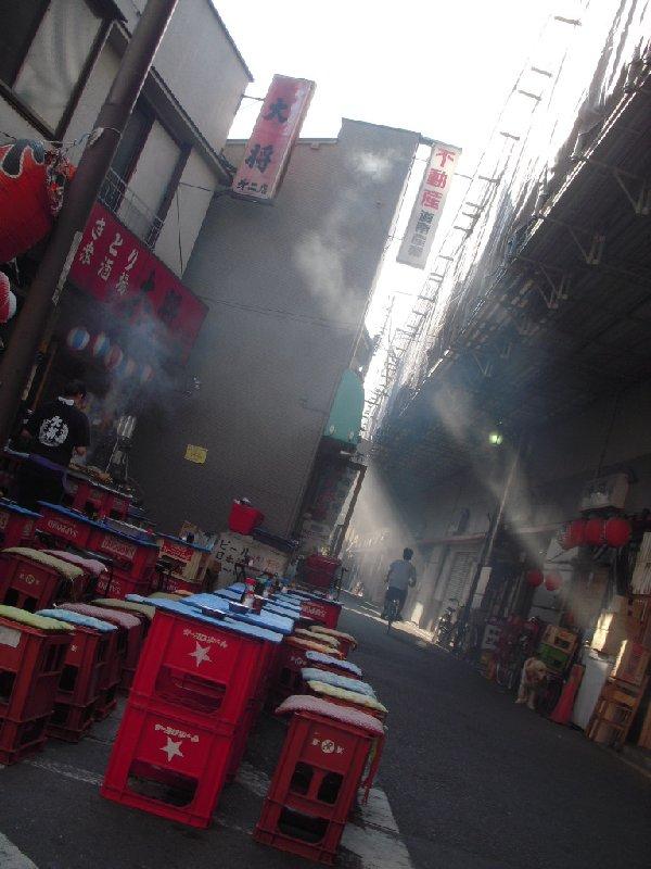 高円寺(koenji) To that direction of yakitori and smoke