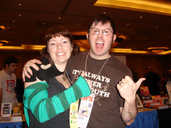 Small Press Expo (SPX) 2009: Jason Pittman of Leftovers Ltd. and me