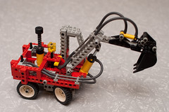 Lego Pneumatic Excavator (8837)