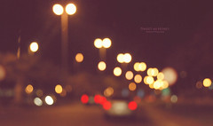 ,      :       ~ (` .) Tags: road colors leaving lights bahrain sweet bokeh el honey fade hussain jasmi aljassmi 7sain