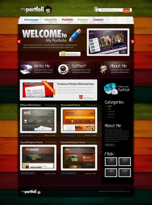 3986007256 869843f95e o d Inspirasi Layout Desain Web dari DeviantArt