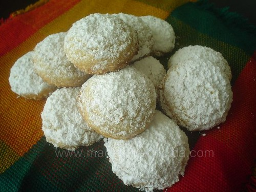 Polvorones de cacahuate