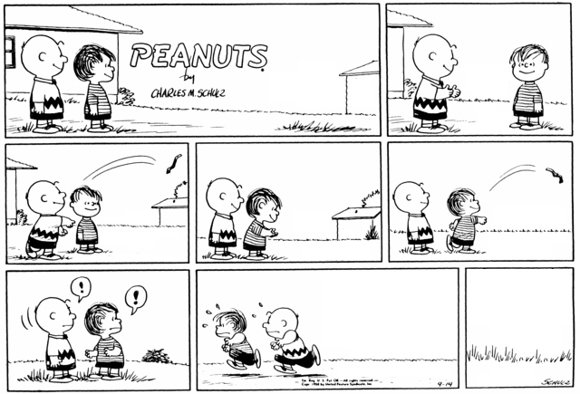Peanuts Minus Snoopy with Charlie Brown and Linus