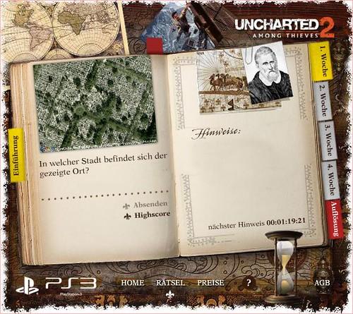 Uncharted-Gewinnspiel