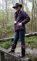 IMG_0227 (Glimmer Rat) Tags: wife wellies rubberboots gumboots rainboots