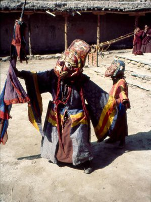 Tenche Dancer in Lo Manthang