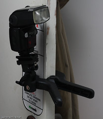 DIY flash clamp 3/4