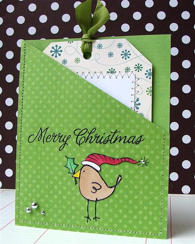 Christmas Tag Card