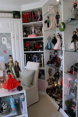 Doll Room 5 (think_pink1265) Tags: barbie dollroom silkstone fashionroyalty dolldisplay dolldiorama
