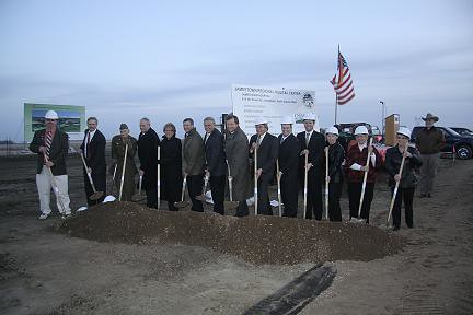 Groundbreaking for the Jamestown Hospital Project