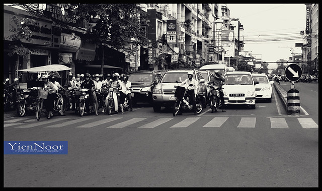 traffic at Phnom phen