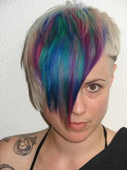jezz new color (wip-hairport) Tags: blue haircut color portugal purple lisboa lisbon hairsalon hairstyle