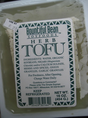bountiful bean herb tofu
